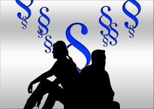 Scheidungsunterlagen sind für die Scheidung nach dem Familienrecht (auf Englisch family law) nötig.