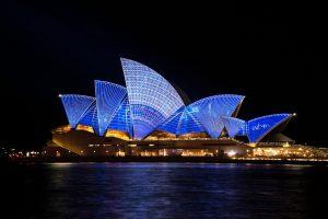 Scheidung Deutsch-Australisch, was es zu beachten gilt. Hier der Hafen mit der bekannten Oper von Sydney. Die Landeshauptstadt ist jedoch Canberra.