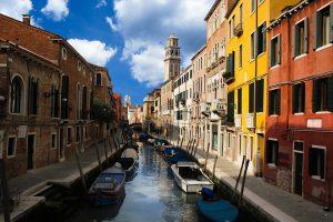 Venedig, die Stadt der Liebe in Italien.