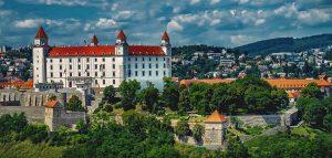 Bratislava die Hauptstadt der Slowakei.