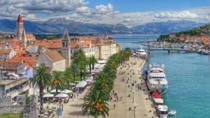 Trogir in Kroatien, hier müssen einige Dinge bei der Scheidung beachtet werden.