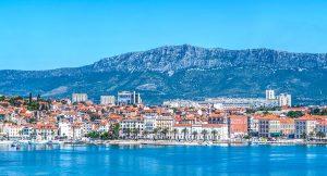 Split in Kroatien, hier gelten die Regeln des kroatischen Rechts für die Scheidung.